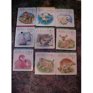 Wild Animal Baby  Collection of 9 Books  2002 Squirrel , Deer