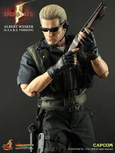 Hottoys Biohazard 5 Resident Evil Albert Wesker Star