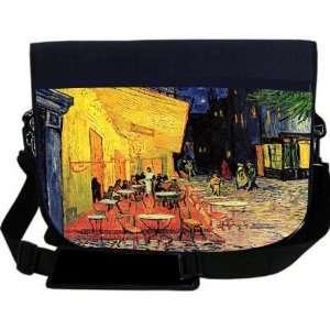 Van Gogh Art The Café Terrace NEOPRENE Laptop Sleeve Bag