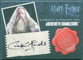 Deathly Hallows Ciaran Hinds as Aberforth Dumbledore Autograph