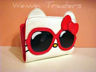 Hello Kitty Giant Red Sunglasses Wallet by Loungefly