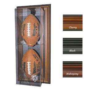 Chicago Bears Nfl Case Up Football Display Case (Vertical