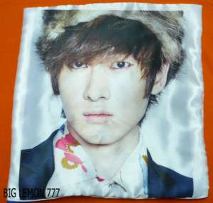 EunHyuk In SUPER JUNIOR Cushion Pillow Cover /Pillowcase Satin Q1