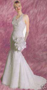 Formal Wedding Prom Ball Gown Dress Gala Off White 16