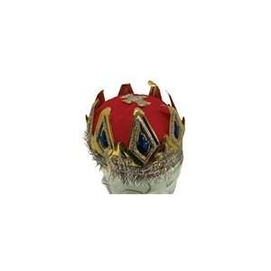 Red Royal Queen Cardboard Crown: Health & Personal Care