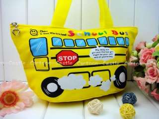 Magic School Bus Shoulder Shopping Bag Handbag Tote 213