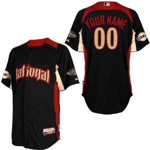 2011 All Star San Francisco Giants Any Name and Number Blue 2011