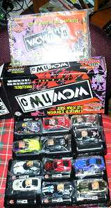 New WCW/NWO Limited edition 12 car set~NASCAR