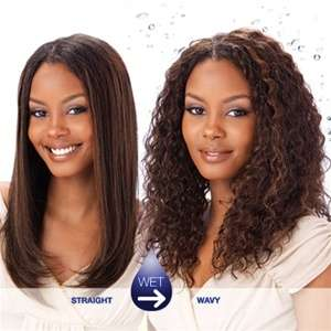 INDIAN JERRY CURL MILKYWAY 100% HUMAN WEAVE WET N WAVY