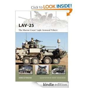 LAV 25 (New Vanguard): James DAngina:  Kindle Store