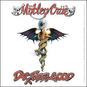 MOTLEY CRUE dr feelgood album cover STICKER