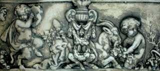 Chernb Angel Cupid Eros Antique Wall Sculpture Home Art