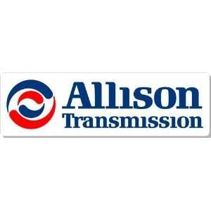 Allison Transmission Logo Bumper Sticker Decal