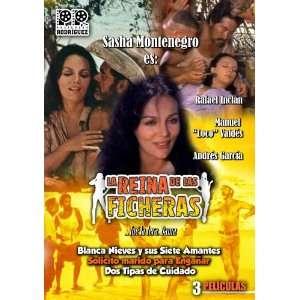 La Reina De Las Ficheras 3 Pack: Sasha Montenegro, Andres