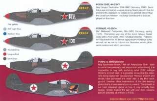 Zotz Decals 1/32 SOVIET P 39 AIRACOBRA ACES