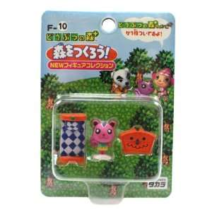Halloween Animal Crossing Figure w/ Accessory Set F 10
