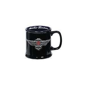 Harley Davidson Fat Boy Mug Shot Glass   Black Everything