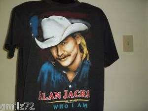 vintage 1994 ALAN JACKSON t shirt TOUR concert COUNTRY