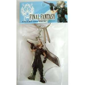 Final Fantasy 7 Cloud Strife Acrylic Key Chain (Closeout