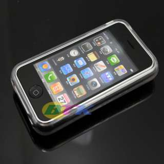 Clear Soft TPU Silicone Hard Case Cover iPhone 3G 3GS