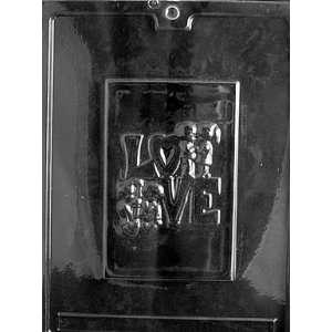 LOVE CARD Valentine Candy Mold chocolate
