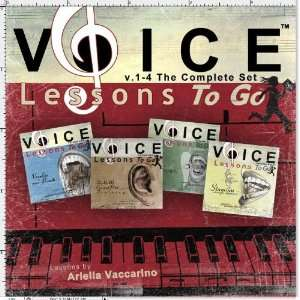 Voice Lessons To Go v.1 4 The Complete Set Ariella Vaccarino Music