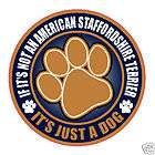not an american staffordshire terrier dog 5 sticker expedited shipping