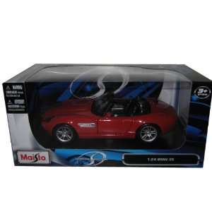 BMW Z8 Convertible Red 124 Diecast Model Car Maisto Toys & Games