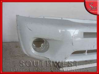FRONT BUMPER COVER RAV4 w o fender flare paint to match