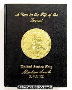 USS ABRAHAM LINCOLN CVN 72 MAIDEN CRUISE BOOK 1991