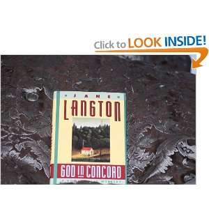 in Concord A Homer Kelly Mystery (9780670842605) Jane Langton Books