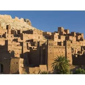 Kasbah, Ait Benhaddou, Atlas Mountains, Morocco, North