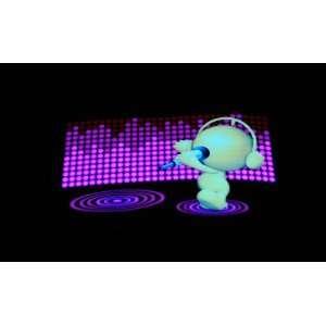 Sound Activated Flashing LED Equalizer T Shirt T Qualizer