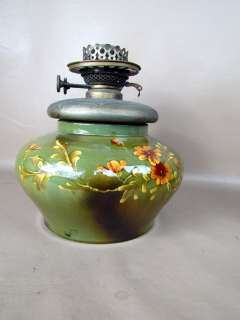Antique American Art Pottery Lamp Base, Jones,McDuffee Boston,MA