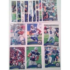 Austin, Tyron Smith RC, Demarco Murray RC, Harris RC, Bruce Carter RC