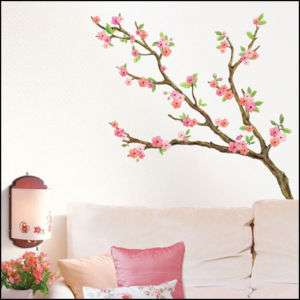 CHERRY BLOSSOM DECOR MURAL ART WALL STICKER LWST 06