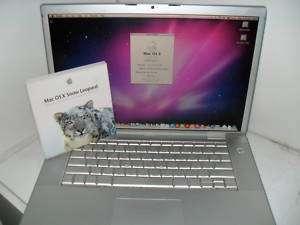 APPLE MACINTOSH LAPTOP 15 MACBOOK PRO INTEL CORE DUO 2GB RAM BRAND