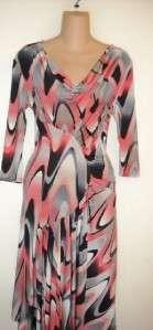 ROMEO Pour JULIETTE Pretty Pink/Black Stretch Dress 2