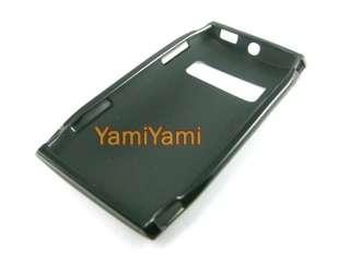 Plastic Soft Matte Skin Protector Cover Case For Nokia X7 Black