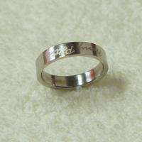 Harry Potter Logo Double Sweetheart Ring Coupled Wedding Rings
