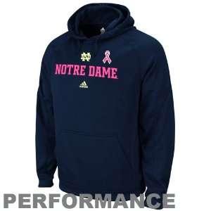 adidas Notre Dame Fighting Irish Navy Blue Breast Cancer Awareness
