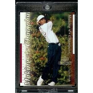 2001 Upper Deck #TWC4 Tiger Woods Golf Card  Mint