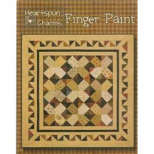 Finger Paint   quilt pattern: Arts, Crafts & Sewing