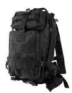 New Military Black MOLLE Medium Transport Pack