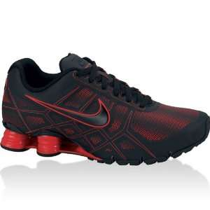 NIKE Shox Turbo 12 SL Mens Running Shoes, Black/Challenge