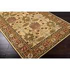 5x8 Arts & Crafts Mission Style Brown Wool Area Rug