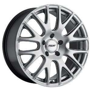 17x8 TSW Mugello (Hyper Silver) Wheels/Rims 5x114.3 (1780MUG405114S76)