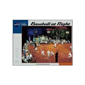 Morris Kantor Baseball At Night 1000pc Jigsaw Puzzle: Toys