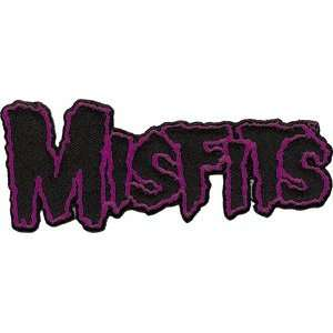 THE MISFITS BAND LOGO EMBROIDERED PATCH:  Home & Kitchen