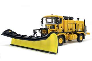 Oshkosh Truck w/ Snow Blower & Snow Plow YELLOW 1/50   TWH #072